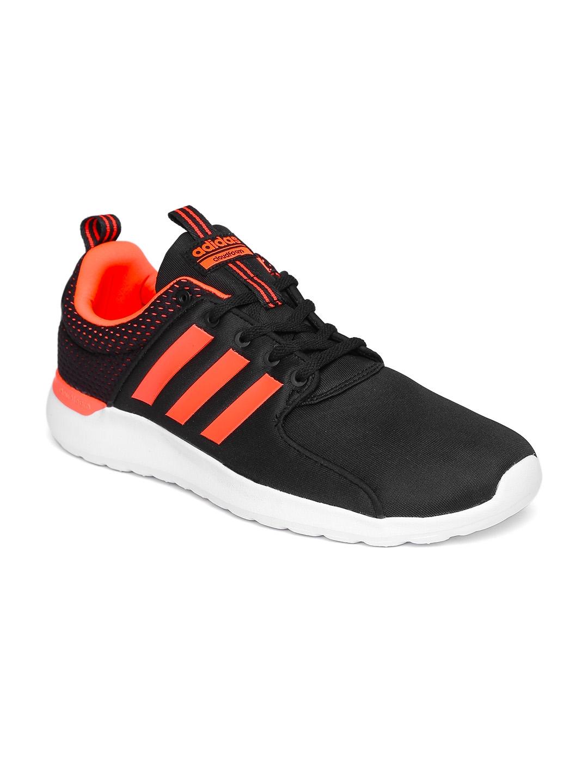ADIDAS NEO Men Black CloudFoam Lite Race Sneakers