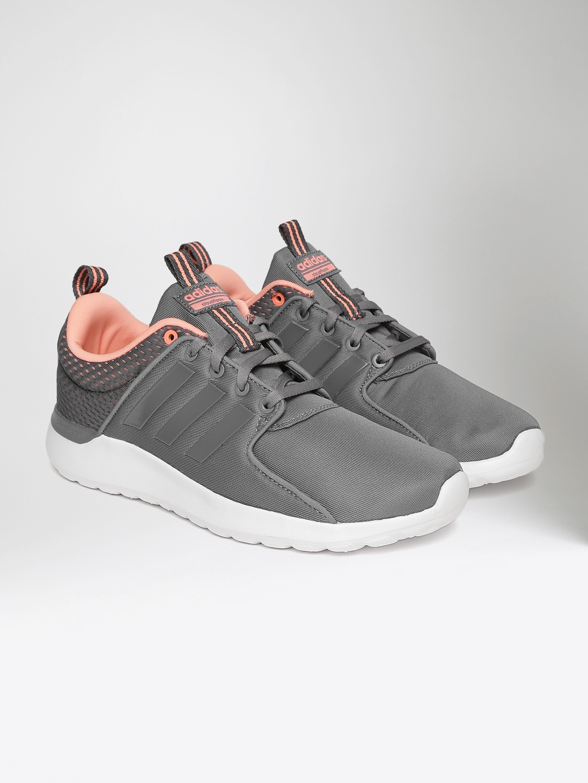 new concept 28cba 10aeb ADIDAS NEO Women Grey CF Lite Racer Sneakers
