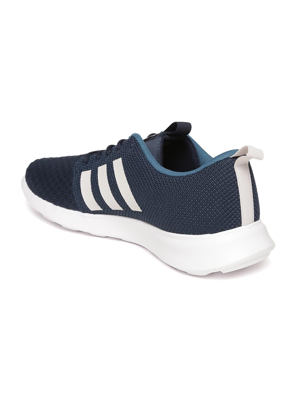 f2673c93465 Buy ADIDAS NEO Men Navy Blue CloudFoam Swift Racer Sneakers - Casual ...