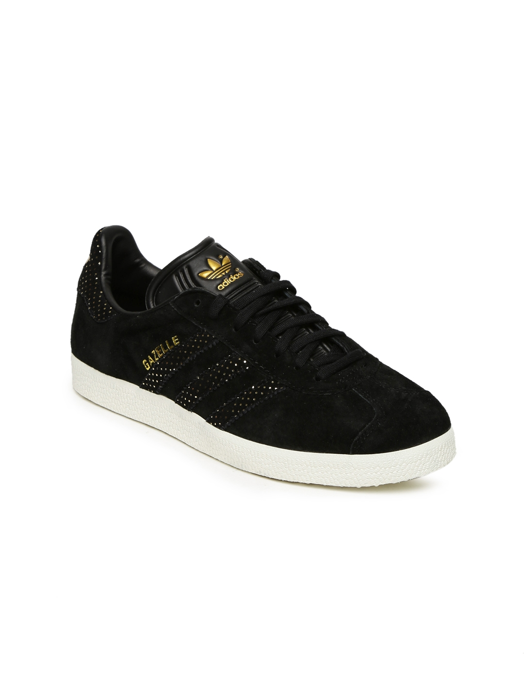 Buy Adidas Originals Women Black Gazelle Sneakers - Casual Shoes for ... 61362c9e7