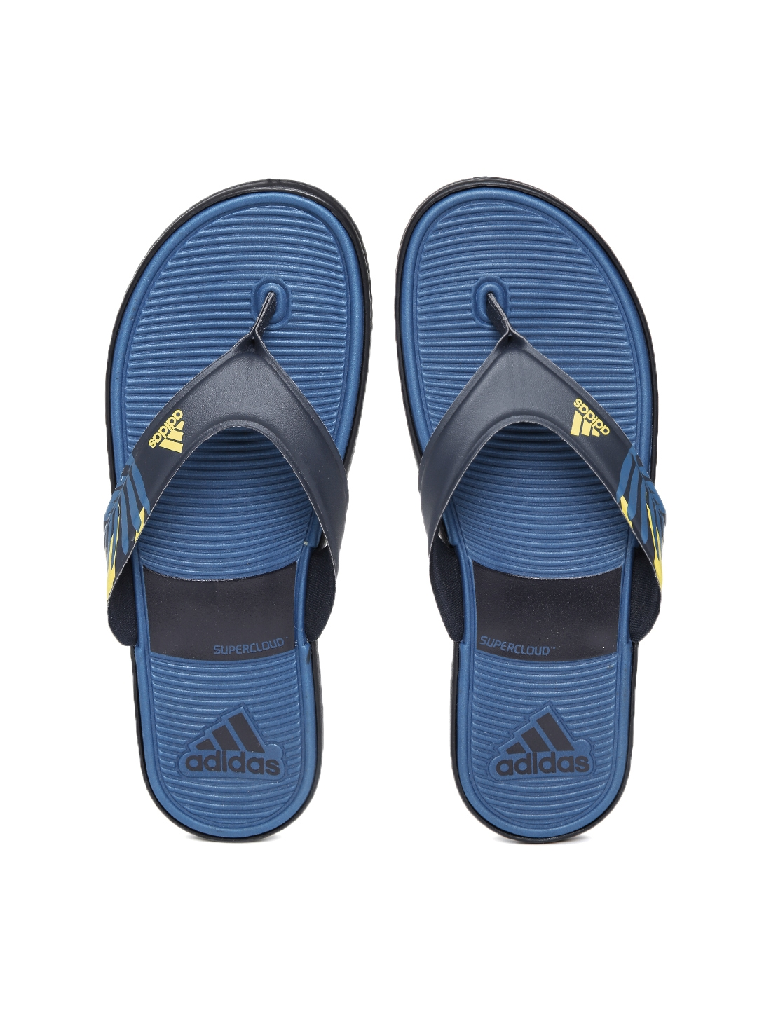 72491cf531c9 Buy ADIDAS Men Blue Super Cloud Beach II Flip Flops - Flip Flops for ...