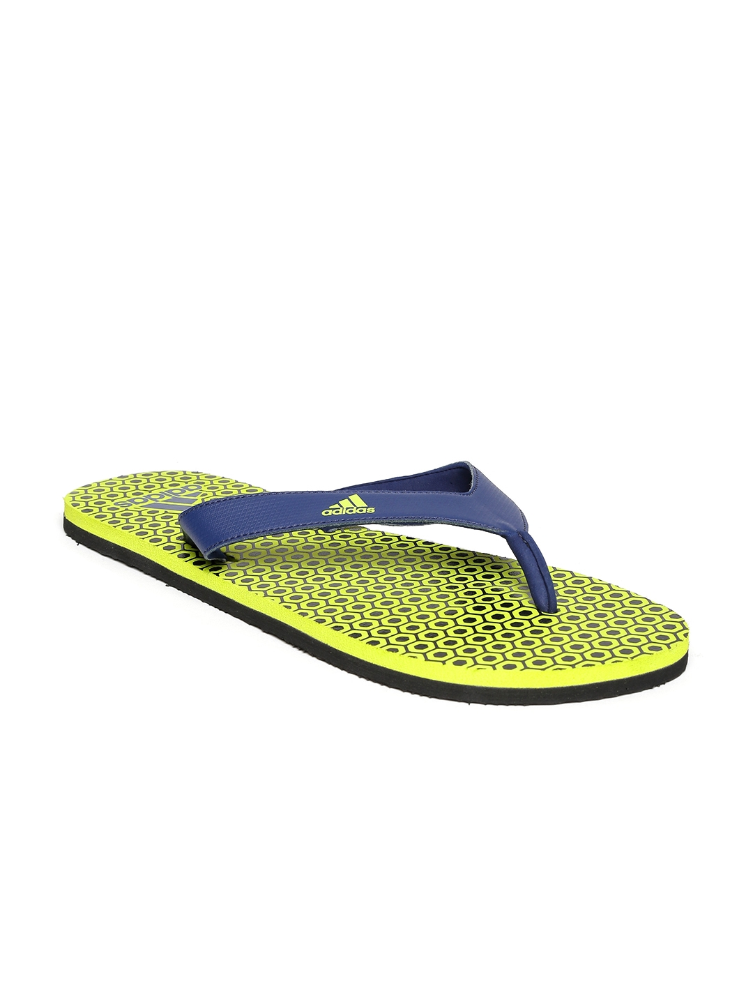 3bd012c08a0d2 Buy ADIDAS Men Navy   Green Beach Print Max Out Flip Flops - Flip ...