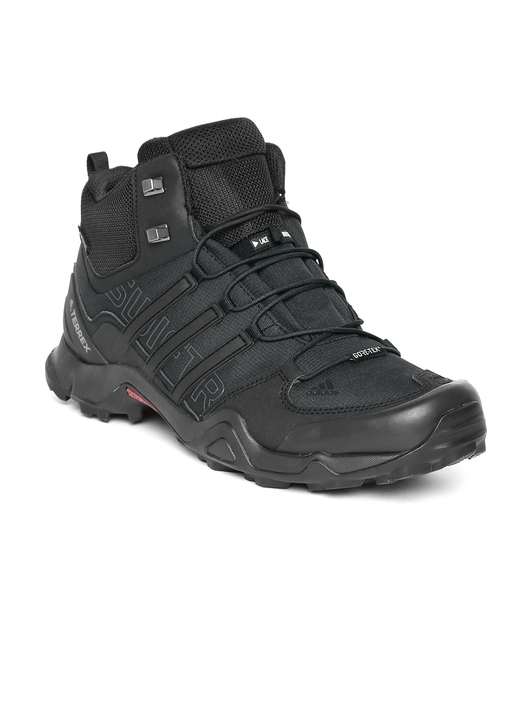 reputable site e5889 ee925 ADIDAS Men Black TERREX SWIFT R MID GTX Sports Shoes