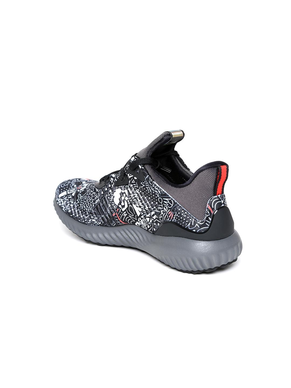 huge discount 423ac 416b3 ADIDAS Kids Black Alphabounce Star Wars J Printed Running Shoes