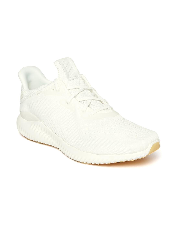 e966de735a7da Buy ADIDAS Men White Alphabounce EM Undye Running Shoes - Sports ...