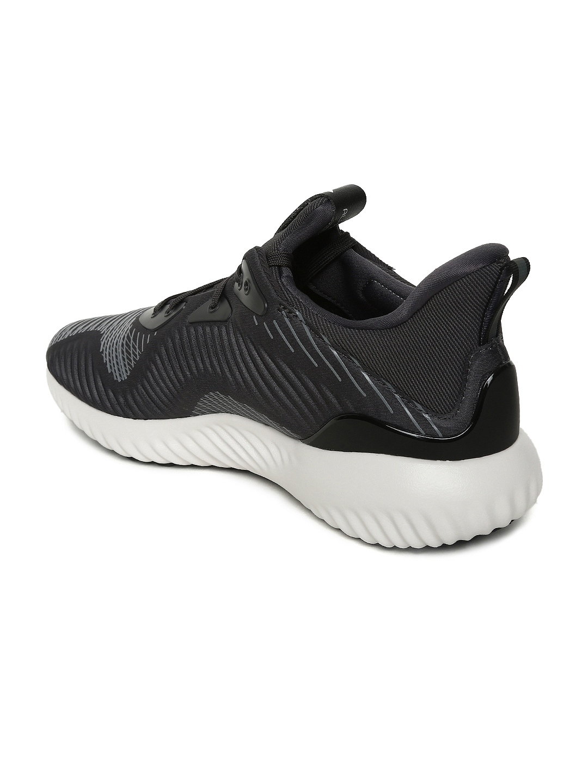 9f79549e06651 Buy ADIDAS Men Black ALPHABOUNCE Haptic Print Running Shoes - Sports ...