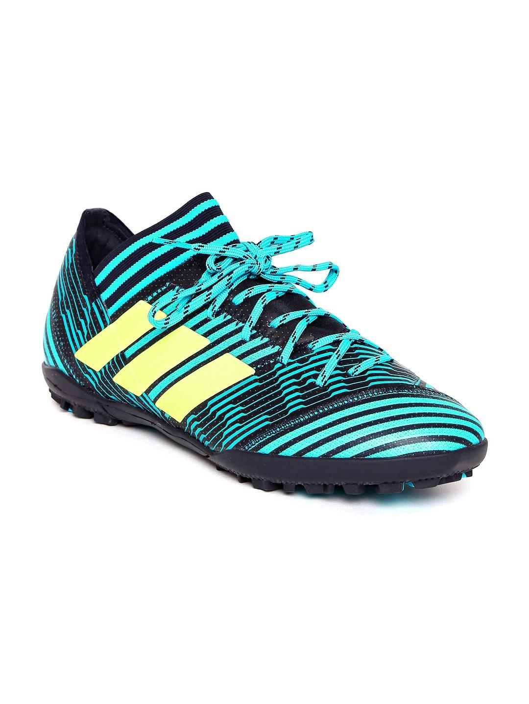 f07f07bdb Buy ADIDAS Men Navy & Sea Green NEMEZIZ TANGO 17.3 Football Shoes ...