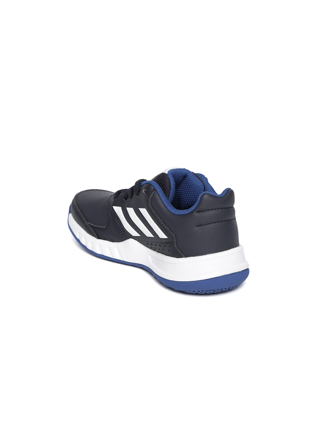 on sale 931df f7621 Adidas Kids Navy Blue FORTAGYM Sports Shoes