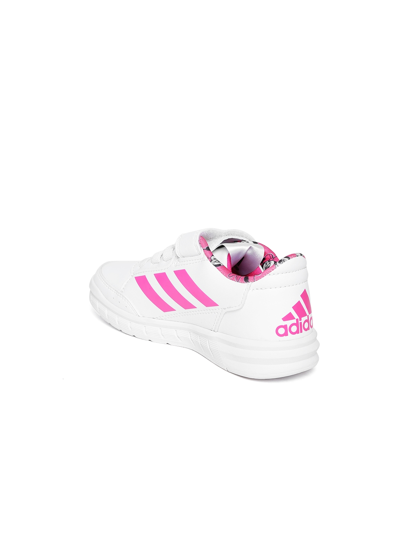 the best attitude 705ef e234b ADIDAS Kids White DY M M ALTASPORT CF C Training Shoes