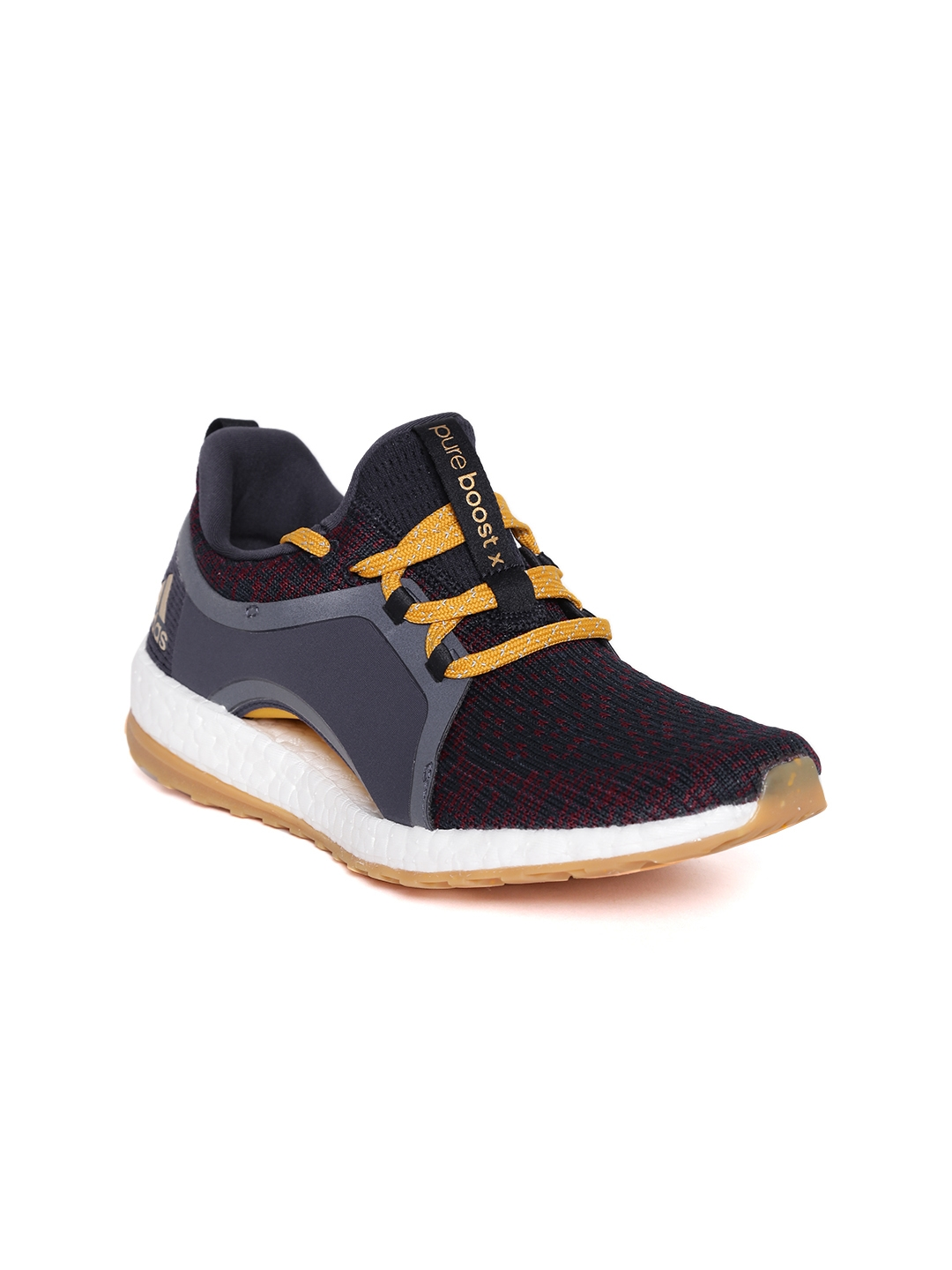 d912fc7723f1b ... get adidas women navy maroon pureboost x all terrain running shoes  6b641 ad662