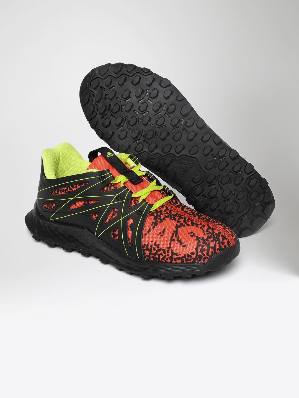051dad197b3fd Buy ADIDAS Kids Orange   Black Vigor Bounce C Running Shoes - Sports ...