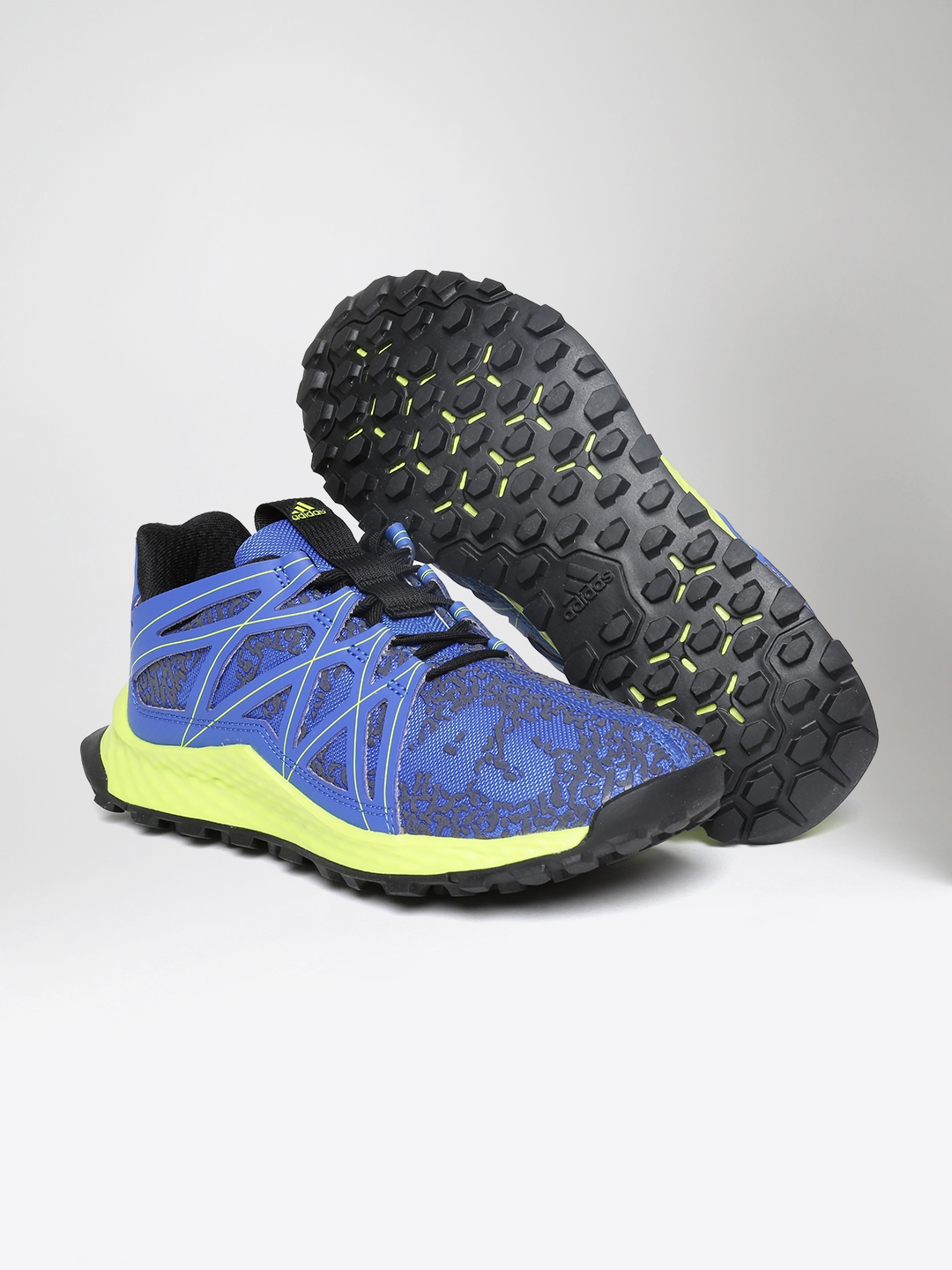 88dfeb76f Buy ADIDAS Kids Blue Vigor Bounce J Running Shoes - Sports Shoes for ...