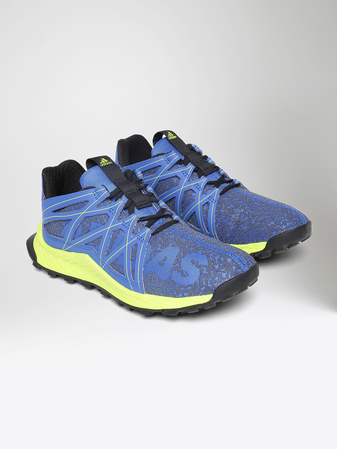 941aebfcd8f34 Buy ADIDAS Kids Blue Vigor Bounce J Running Shoes - Sports Shoes for ...