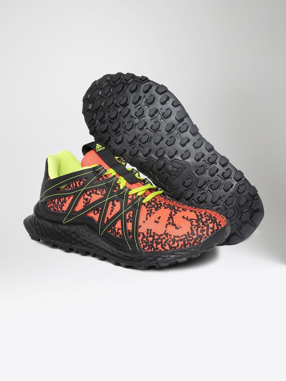 c18d3453b Buy ADIDAS Kids Orange   Black Vigor Bounce J Running Shoes - Sports ...