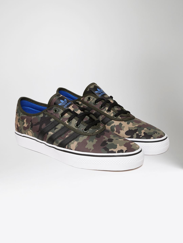 ADI EASE Camouflage Print Skate Shoes