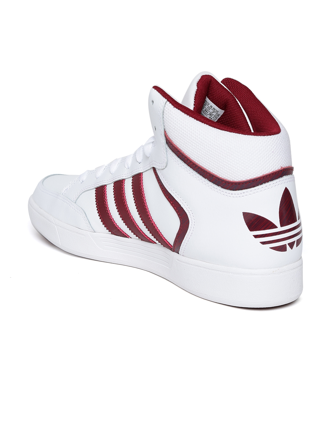 403a8d2b69d Buy ADIDAS Originals Men White Varial Mid Skateboarding Shoes ...