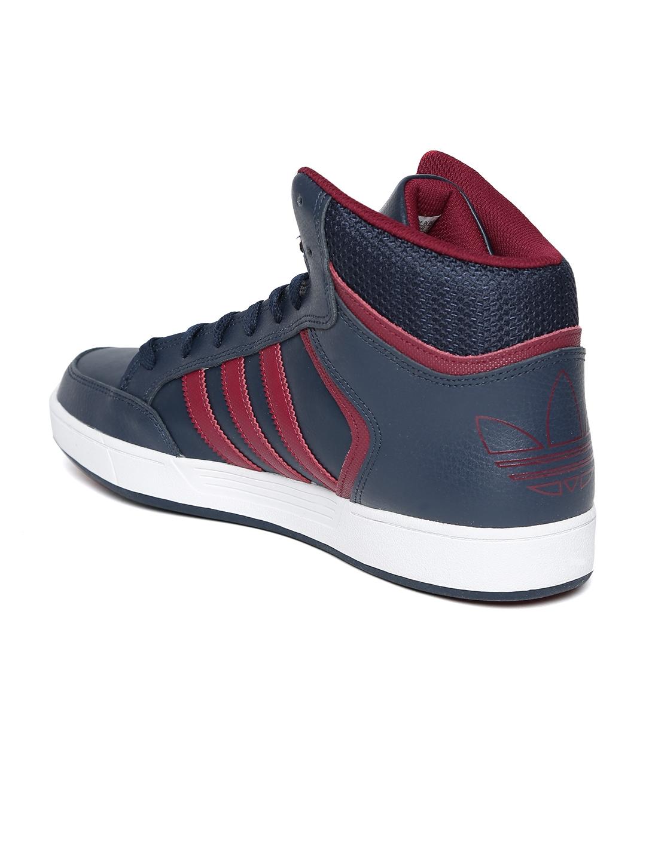 huge selection of 2b59d d97f0 ADIDAS Originals Men Navy Varial Mid Skateboarding Shoes