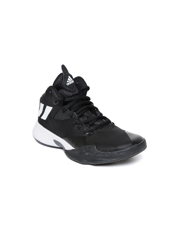 2c0572338ff Buy ADIDAS Kids Black Dual Threat 2017 J Basketball Shoes - Sports ...