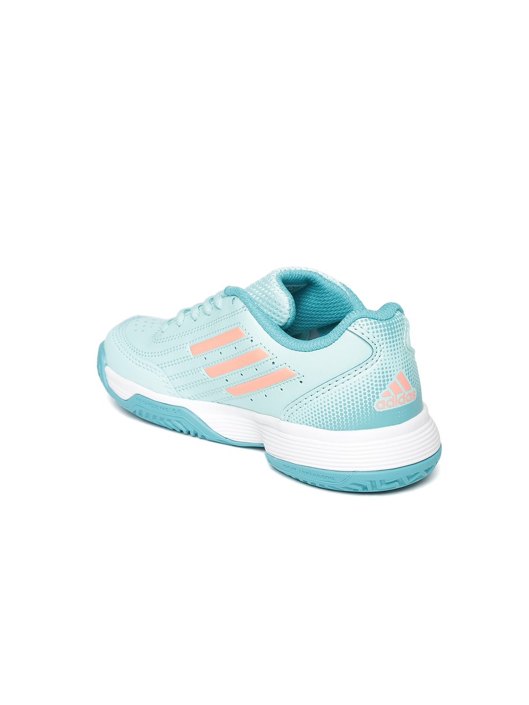 ad8a2ae772a9d ADIDAS Kids Sea Green Sonic Attack Tennis Shoes. This product is already at  its best price