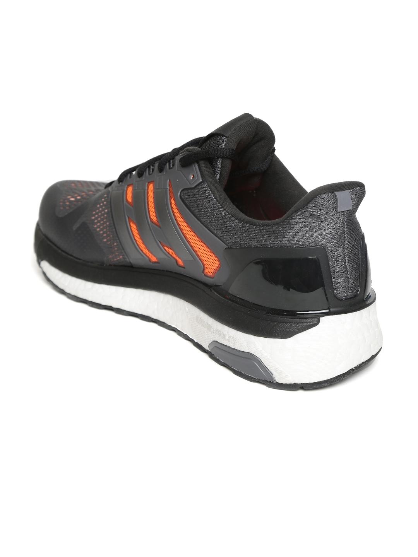20c2774160baa Buy ADIDAS Men Charcoal Grey SUPERNOVA ST Running Shoes - Sports ...