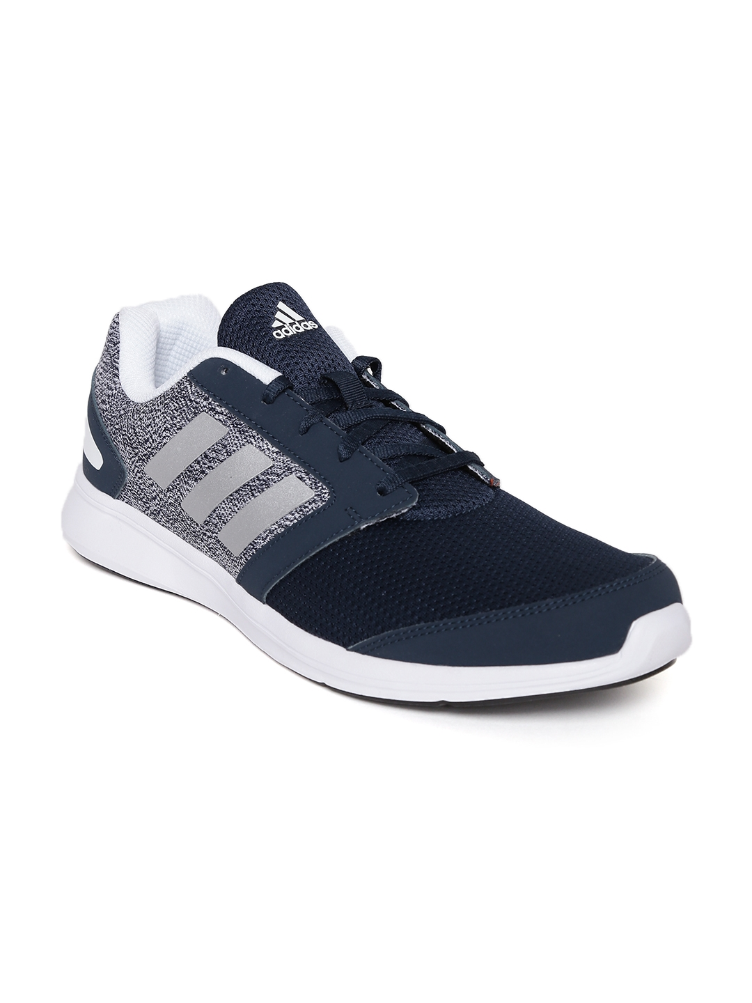 Navy Blue And White Basketball Shoes