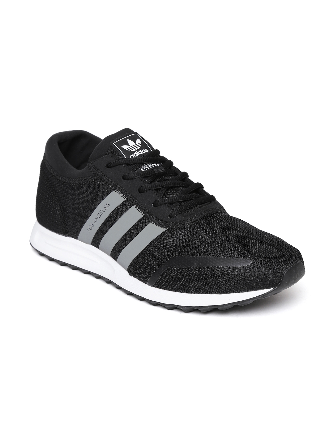 big sale 06c36 83a0f Adidas Originals Men Black Los Angeles Sneakers