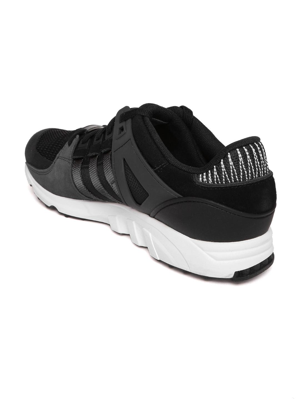 online store 09c46 d7c34 ADIDAS Originals Men Black EQT Support RF Sneakers