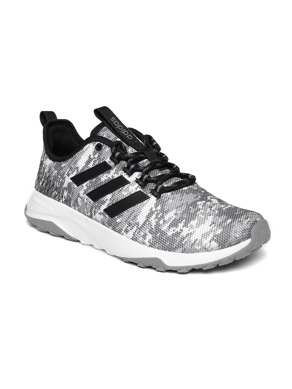 new style 0cb02 6639b ADIDAS NEO Men Grey CloudFoam Superflex TR Sneakers