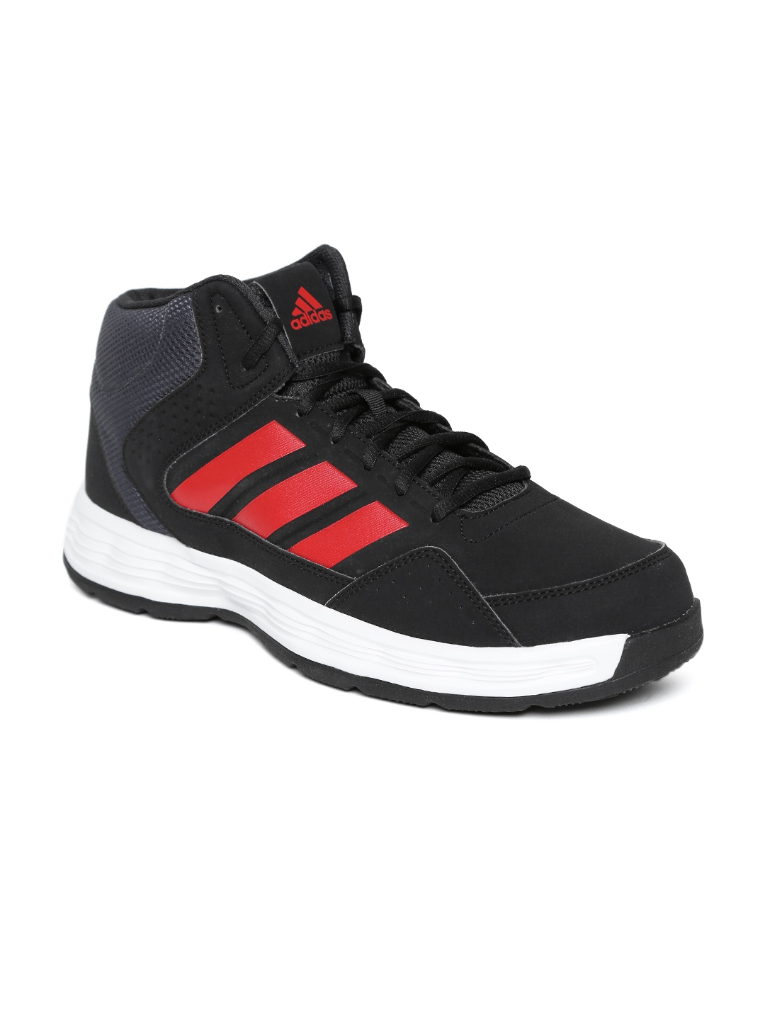 adidas basketball shoes womens. adidas men black rib w mid-top basketball shoes womens