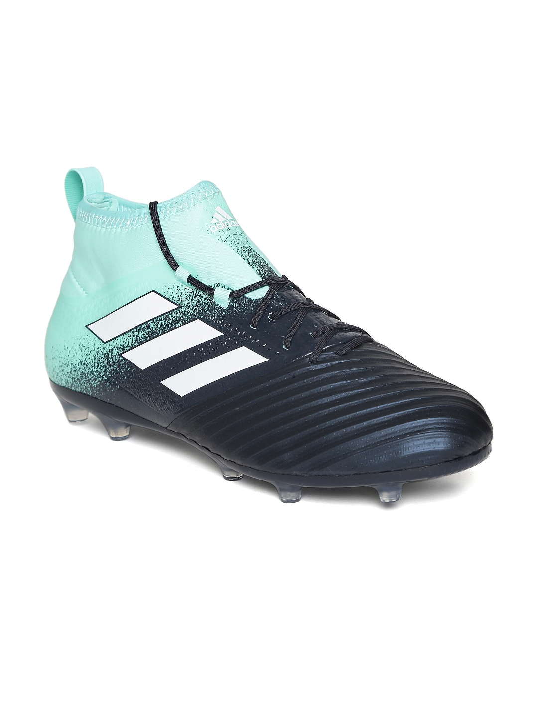 62150bc6e551 ADIDAS Men Navy   Mint Green Ace 17.2 Firm Ground Cleats Mid-Top Football  Shoes