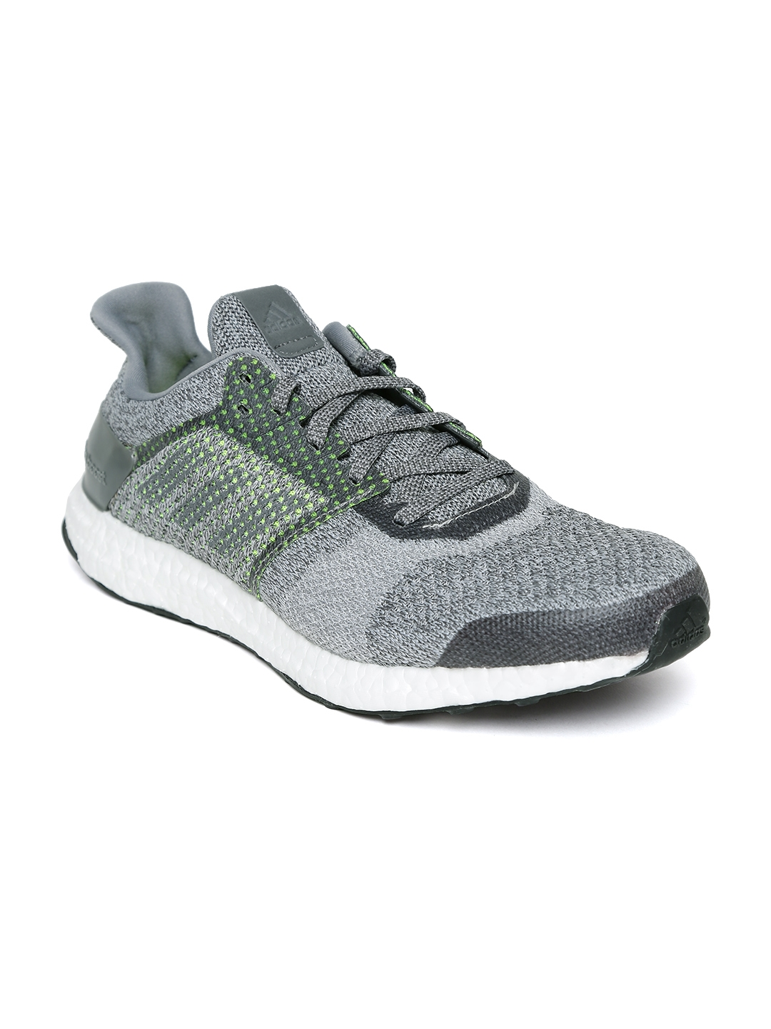 9d078b54d0eb1 Buy ADIDAS Men Grey ULTRABOOST Street Running Shoes - Sports Shoes ...