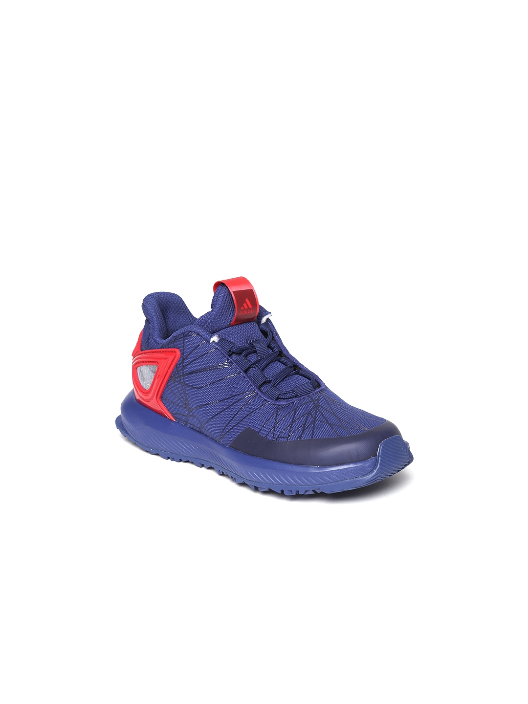 8f8cd4ee0d5b91 Buy ADIDAS Kids Blue Spider Man Rapida Running Shoes - Sports Shoes ...