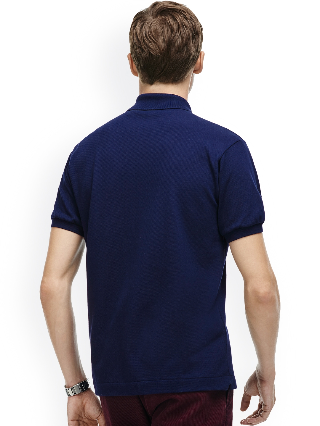 2e2cde1c Buy Lacoste Navy Blue Classic Fit L.12.12 Polo - Tshirts for Men ...