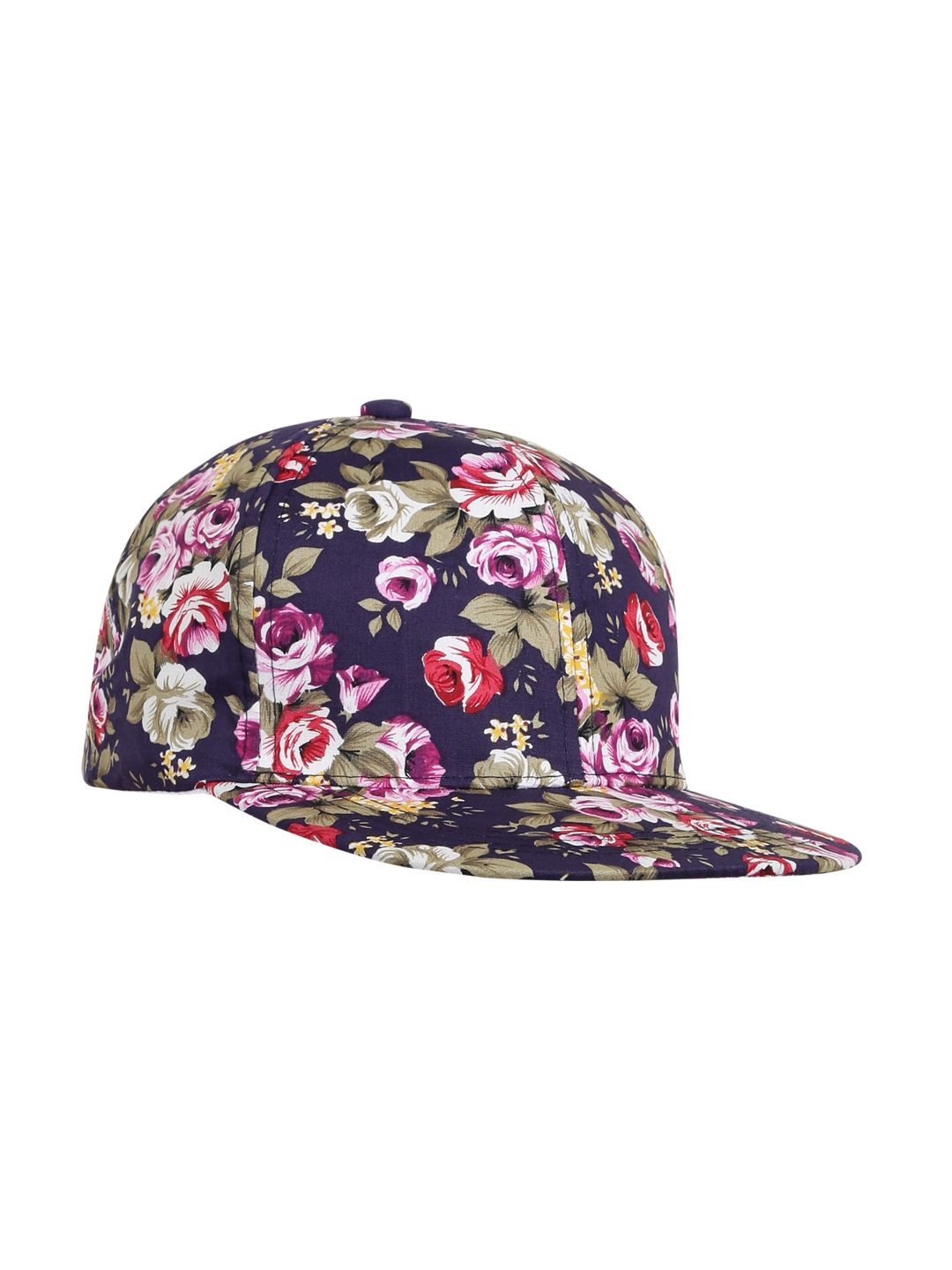 e8e7ef2a1e7fb8 Buy Ayesha Women Multicoloured Floral Print Cap - Caps for Women ...
