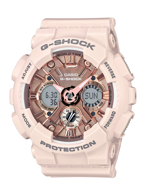 d73dcf1946183 CASIO G-Shock S-Series Women Copper-Toned Analogue   Digital Watch GMA-S120MF-4ADR  G732