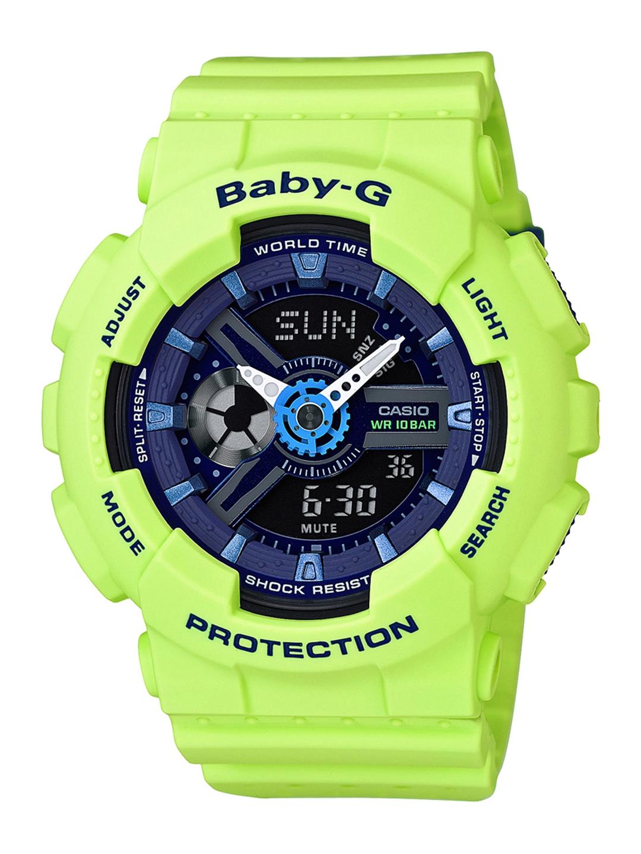e6676a90cad9 Buy CASIO G Shock Women Lime Green Analogue   Digital Watch B179 ...