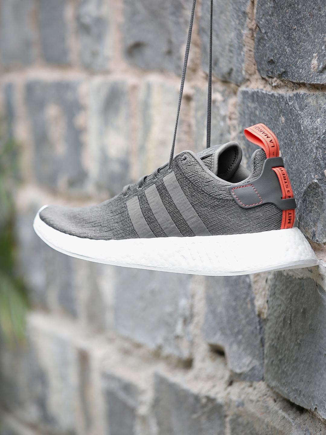 12aff114cd544 Buy ADIDAS Originals Men Charcoal Grey NMD R2 Sneakers - Casual Shoes for  Men 1995328