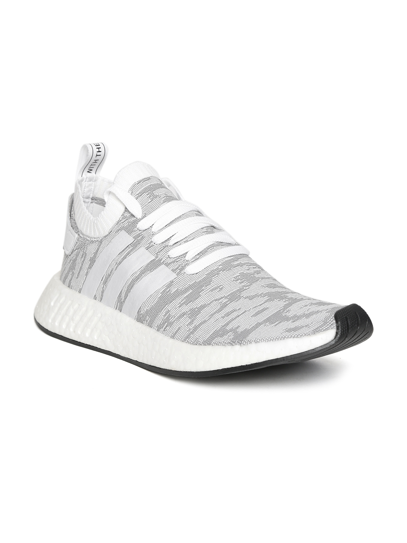 5557ea11a3f3d Buy ADIDAS Originals Men Grey Melange NMD R2 PK Sneakers - Casual ...
