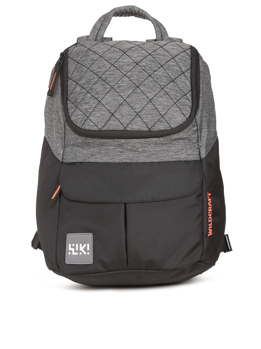 Wildcraft Unisex Grey   Black Mini 1   Wiki Colourblocked Backpack eba1eabe9bd5f