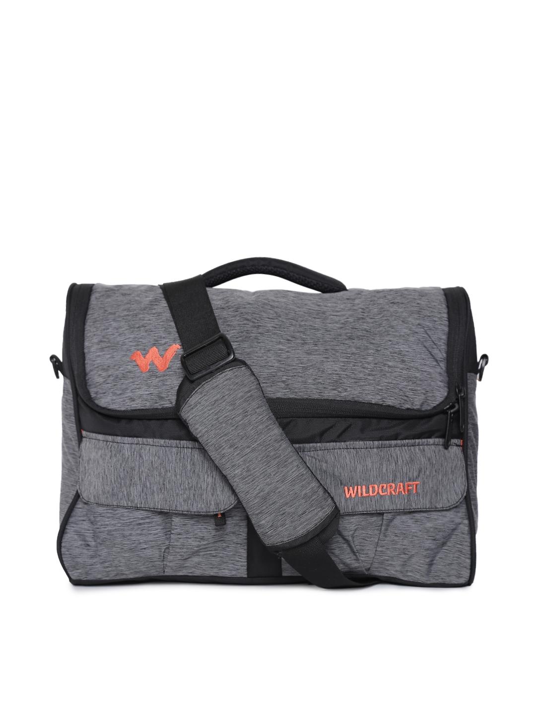 8aa7ef7afa47 Buy Wildcraft Unisex Grey Crossbee Messenger Bag - Messenger Bag for ...