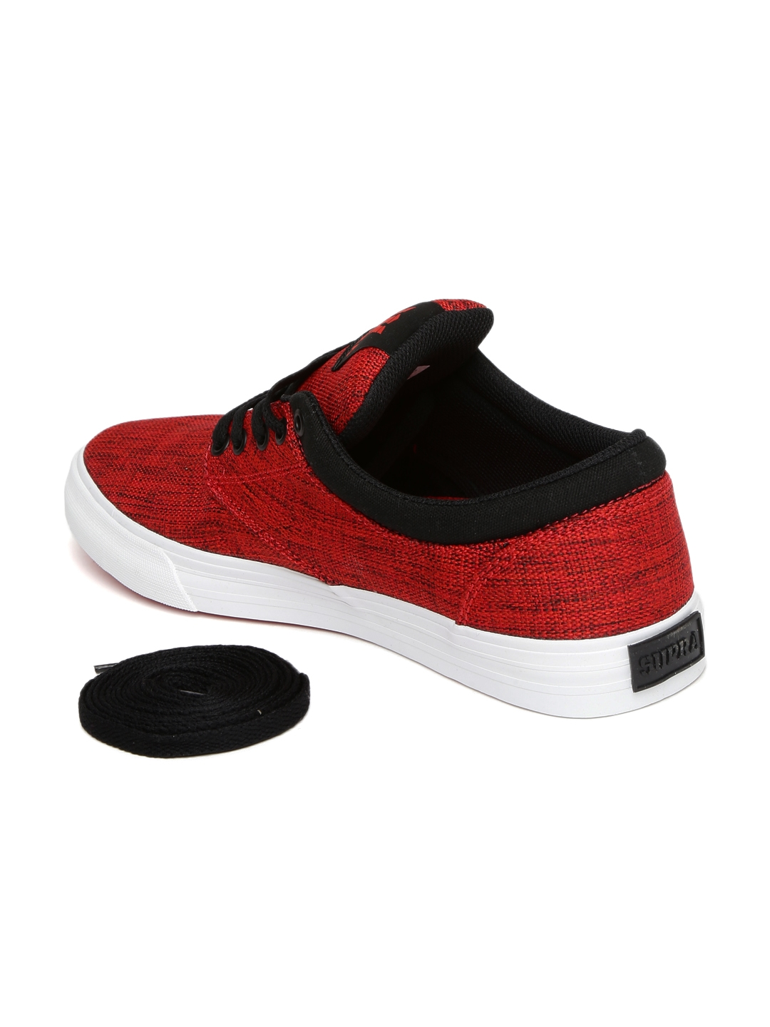 316cfc4a98d7 Buy Supra Men Red CHINO Skate Shoes - Casual Shoes for Men 2001912 ...