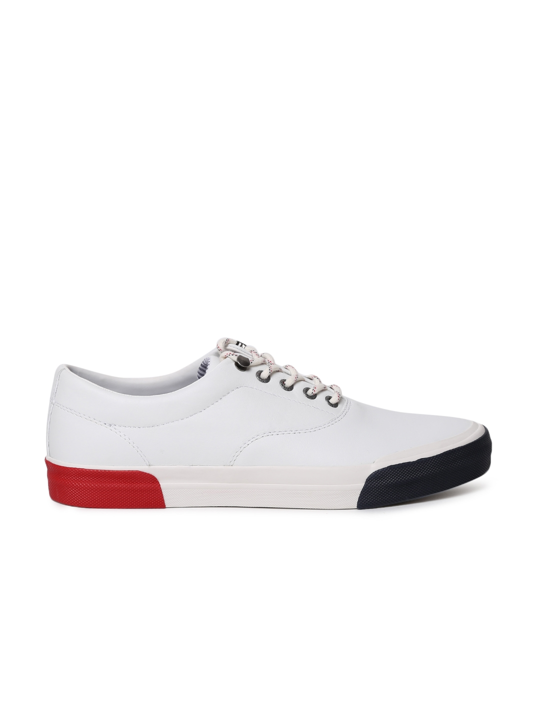 b6b436f36 Buy Tommy Hilfiger Men White Sneakers - Casual Shoes for Men 2003073 ...