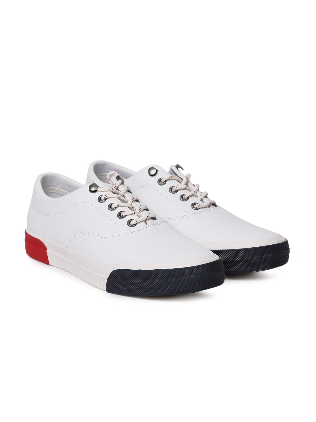 db8d988547fec Buy Tommy Hilfiger Men White Sneakers - Casual Shoes for Men 2003073 ...