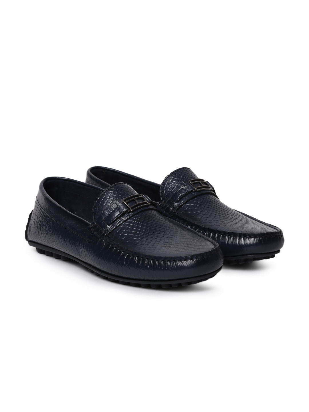 efbb2dd2b877 Buy Tommy Hilfiger Men Navy Blue Loafers - Casual Shoes for Men ...