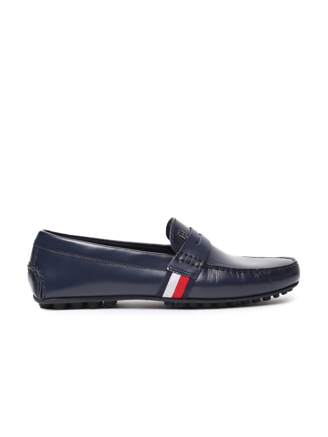 f7f1fba4f6b54 Buy Tommy Hilfiger Men Blue Loafers - Casual Shoes for Men 2003096 ...