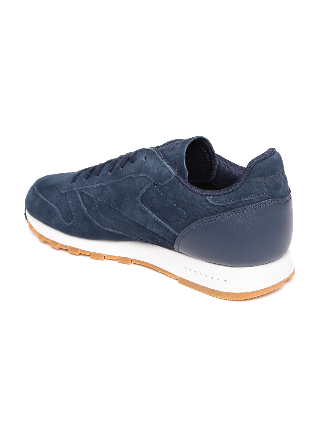 62b77cfe107 Buy Reebok Classic Men Navy CL Leather SG Sneakers - Casual Shoes ...