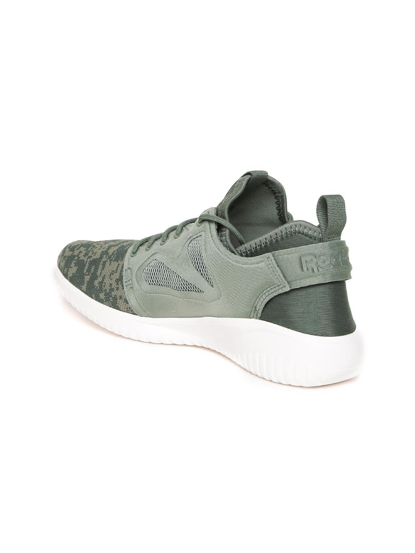 5c96c811f8ae8 Buy Reebok Classic Women Olive Green Skycush Evolution WOV Sneakers ...