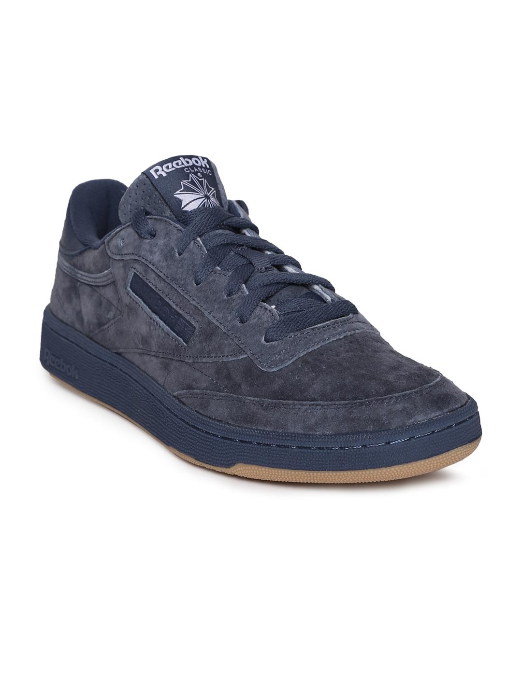 381e323b83342 Buy Reebok Classic Men Navy Blue CLUB C 85 SG Sneakers - Casual ...
