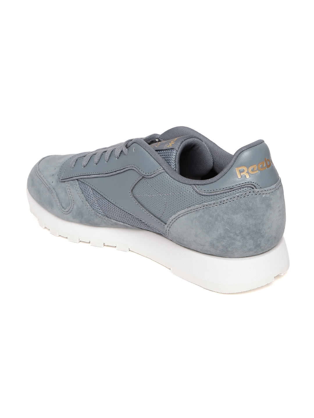 ff505070822 Buy Reebok Classic Men Grey CL Leather ALR Sneakers - Casual Shoes ...