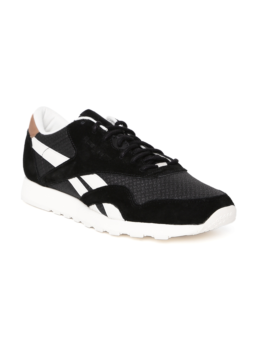 343aafd78eed6e Buy Reebok Classic Men Black CL Nylon Sneakers - Casual Shoes for ...